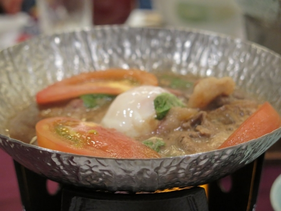 トマト牛すき鍋