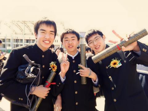 3.6 卒業式2