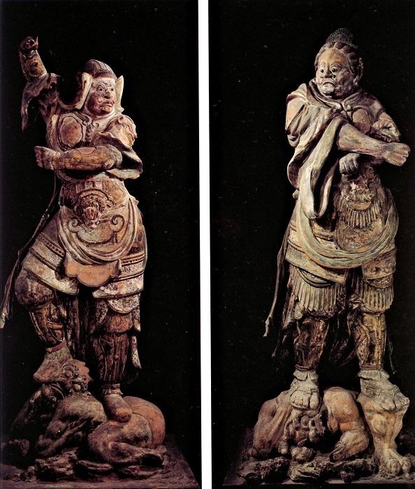 興福寺北円堂・四天王像(延暦10年・791作)