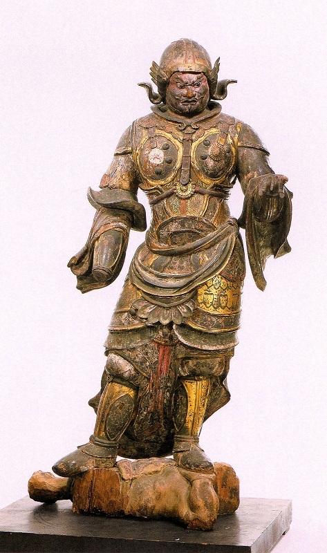 興福寺・広目天像(奈良博展示)平安~鎌倉時代