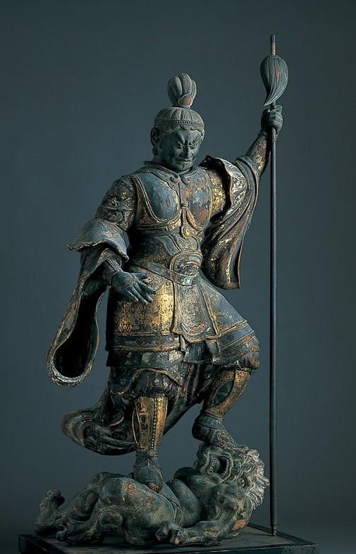 ミホミュージアム・興福寺旧蔵 持国天像(平安~鎌倉時代)