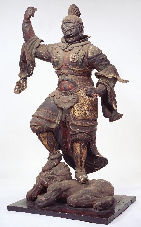 奈良国立博物館・興福寺旧蔵 増長天像(平安~鎌倉時代)