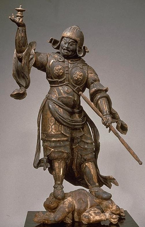 奈良国立博物館・興福寺旧蔵 多聞天像(平安~鎌倉時代)