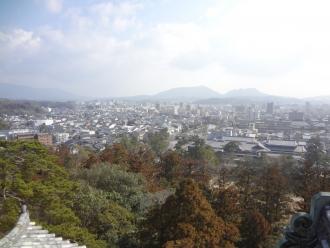 松江城展望