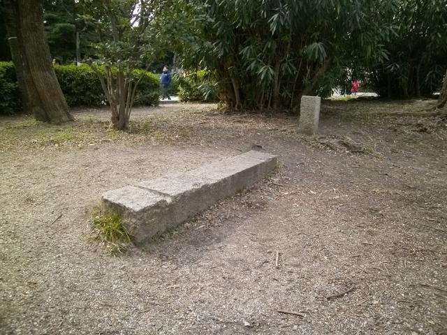 大阪城境界石 (5)