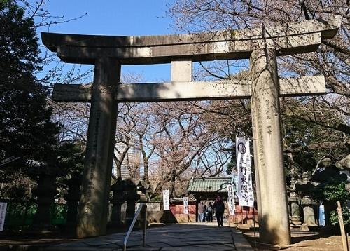 上野東照宮鳥居