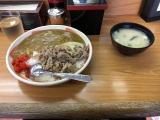 ■丼太郎茗荷谷店 牛カレー(大盛)