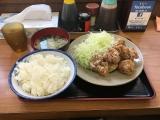 どん八食堂東糀谷店 からあげ定食