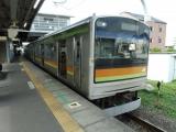 JR205系3000番台ハエ82編成 箱根ケ崎にて