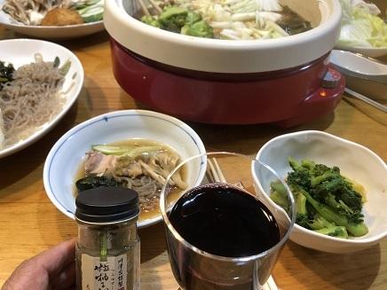 2242018 ワイン&鍋晩酌S
