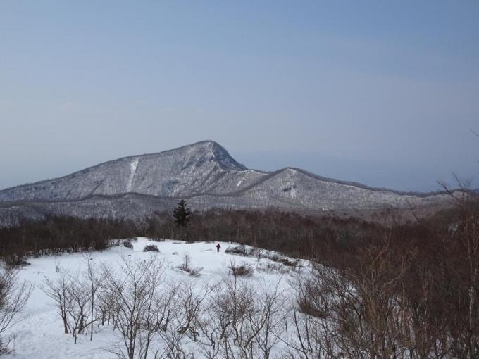 荒山と浅間山は見えない
