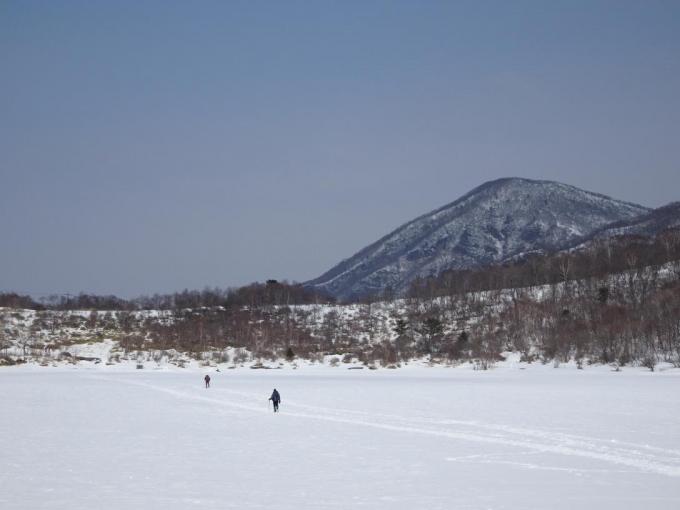 小沼と黒檜山