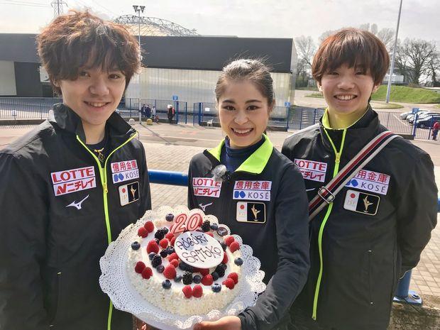 3月26日は宮原知子選手、二十歳の誕生日(公式:フジテレビフィギュアスケートTwitter)(ブログ)