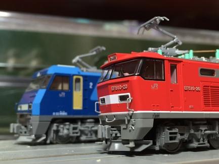KATO EF510とEH200