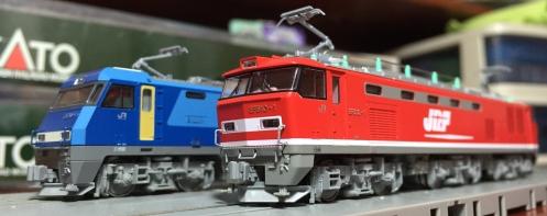 KATO EF510-1とEH200-1