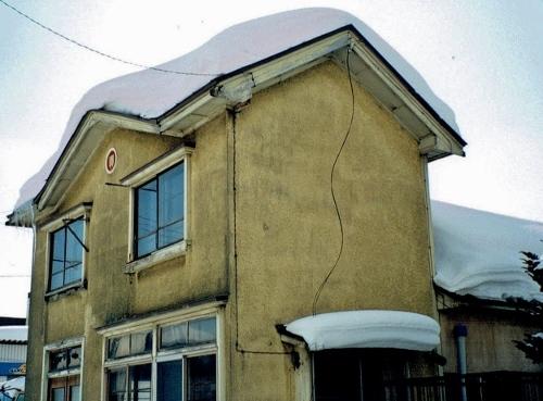 食糧事務所 篠路出張所 屋根