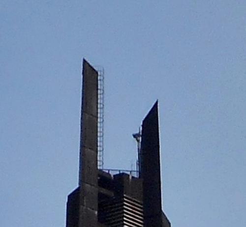 北海道百年記念塔 てっぺん