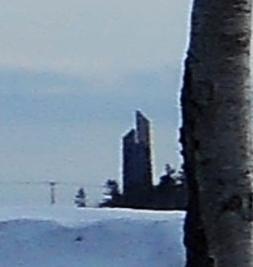 北海道百年記念塔 江別側からの眺め