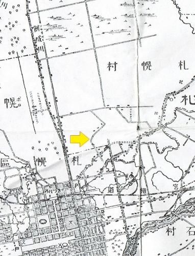 明治29年地形図 元村線