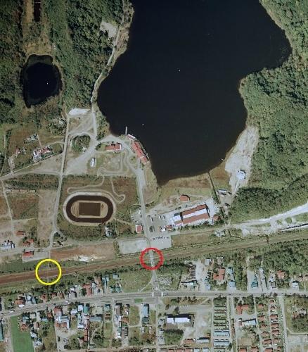 空中写真 1975年 白老 ポロト湖