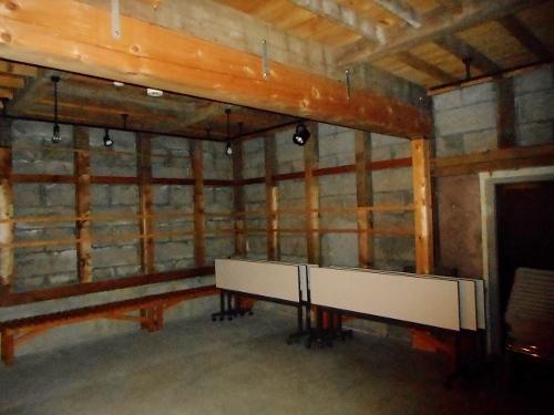 白老 軟石倉庫 内部