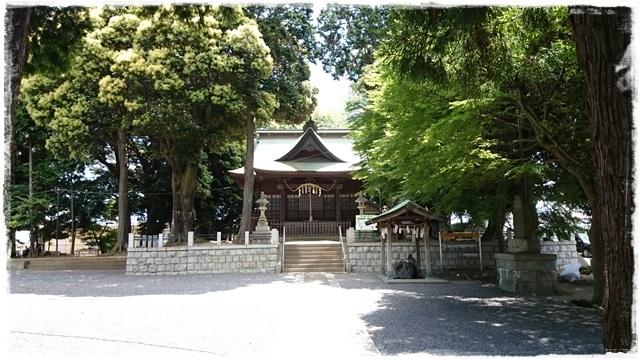 油縄子八幡神社