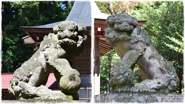 鹿嶋神社・狛犬