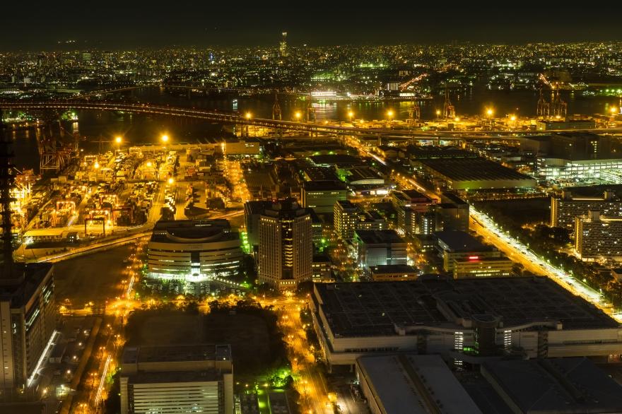 咲洲庁舎展望台 東方向