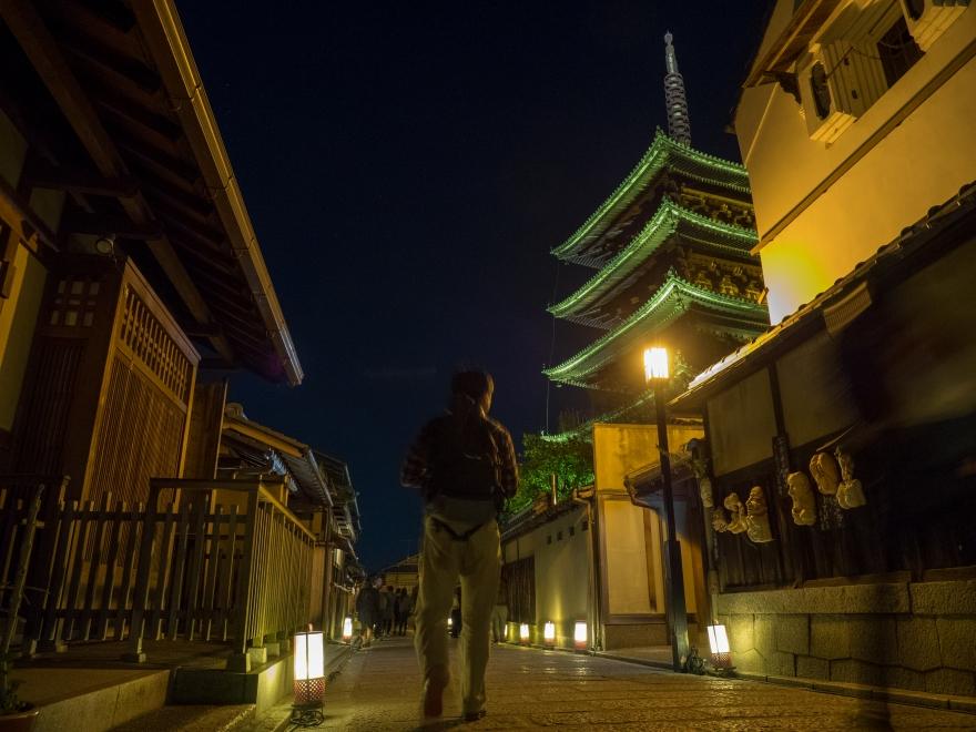 東山花灯路 八坂の塔 (2)
