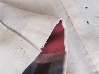 ビフォー裾