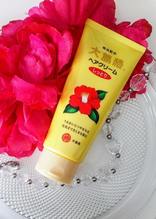 大島椿ヘアクリーム椿油は髪に良い