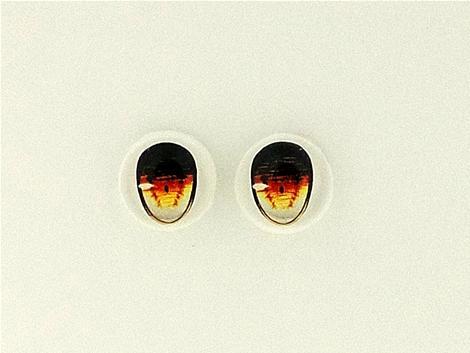 [第九天獄] B級品・ガラスの瞳・パール紙:8mmレジンアイ
