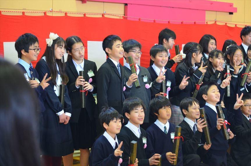 20180322 32期生卒業式