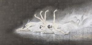 「瀕死の白鳥」西田俊英