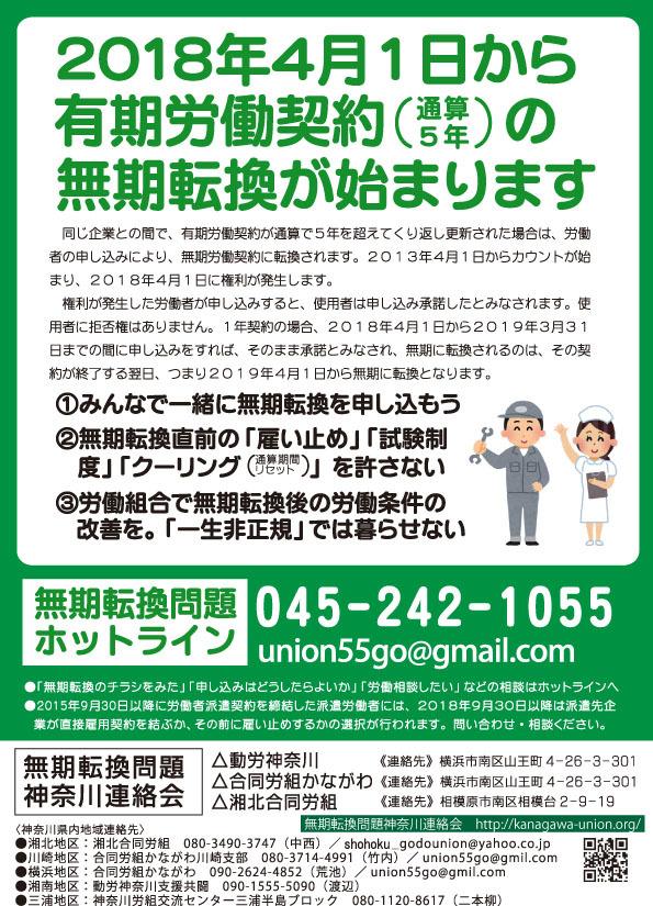 神奈川連絡会チラシ おもて トンボなし