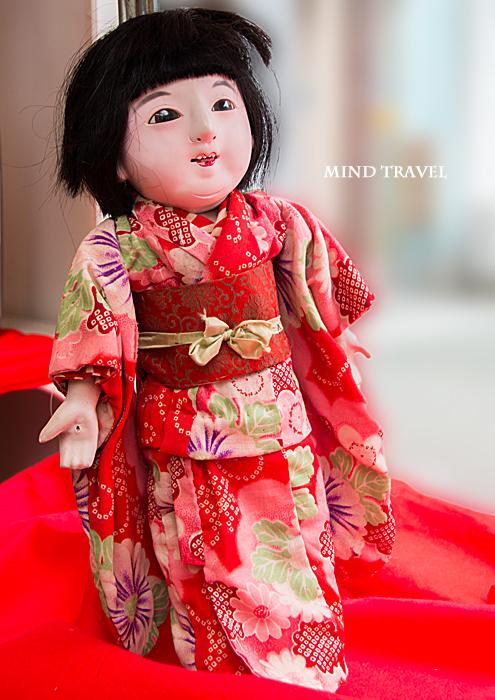 大和な雛祭 市松人形