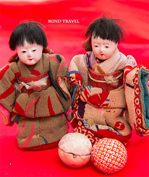 大和な雛祭 市松人形2