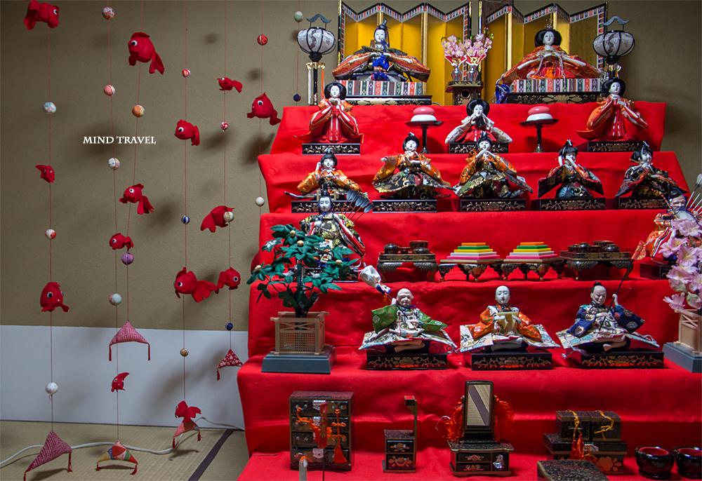 大和な雛祭 町屋物語館 雛人形