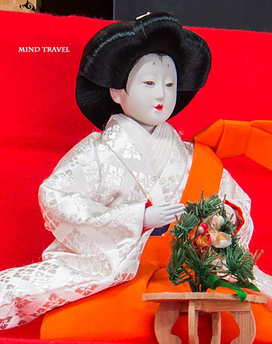 加茂船屋の雛祭 呉服屋さんの雛人形