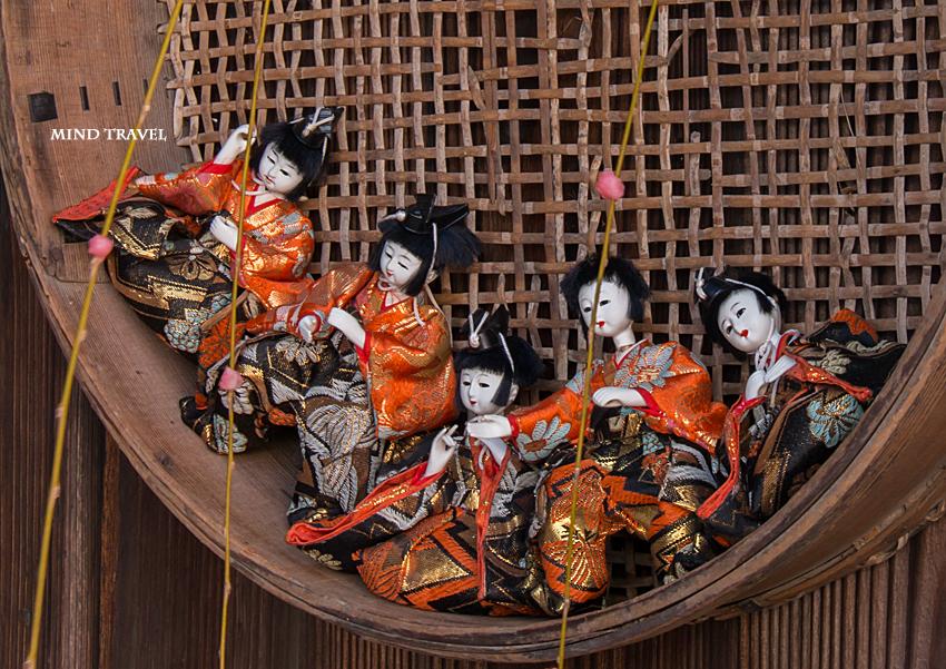 加茂船屋の雛祭 五人囃子