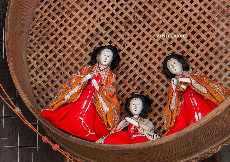 加茂船屋の雛祭 三人官女