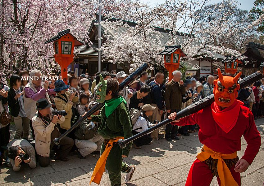 平野神社 桜祭神幸祭 鬼2
