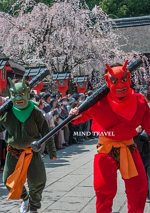 平野神社 桜祭神幸祭 鬼
