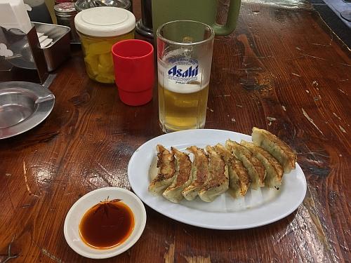 ビール餃子セット 500円