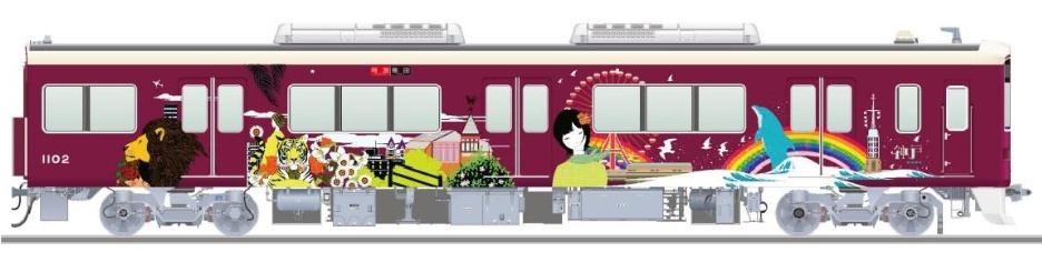 20180315阪急神戸線ラッピング