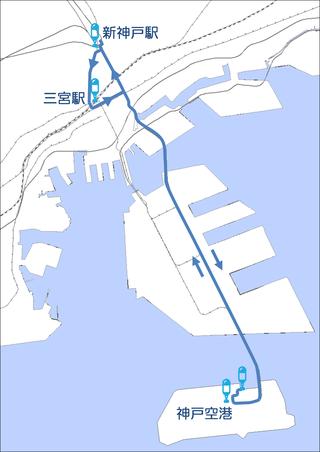 20180322直通バスのルート