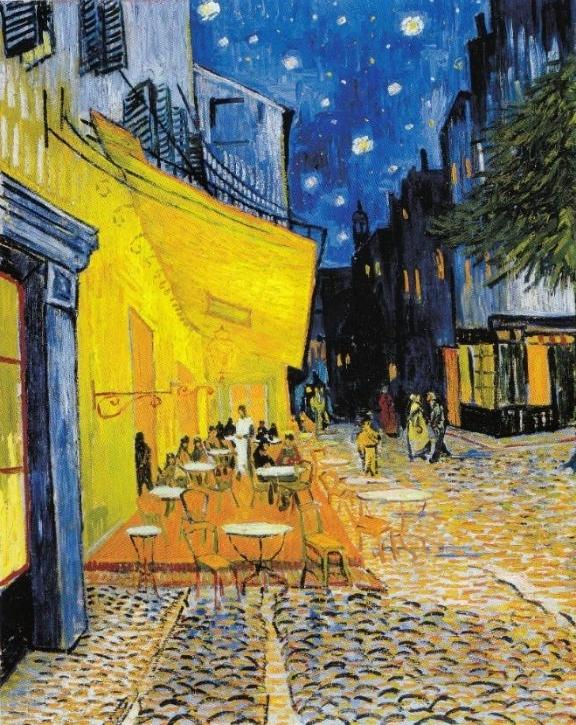 夜のカフェテラス・Gogh