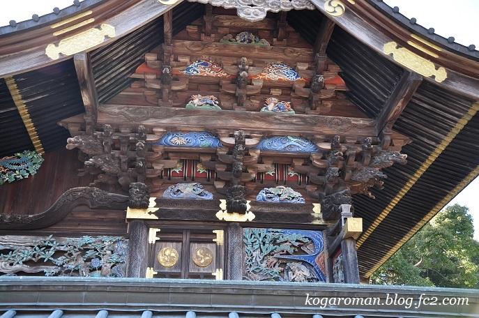 雷電神社の梅と蝋梅3
