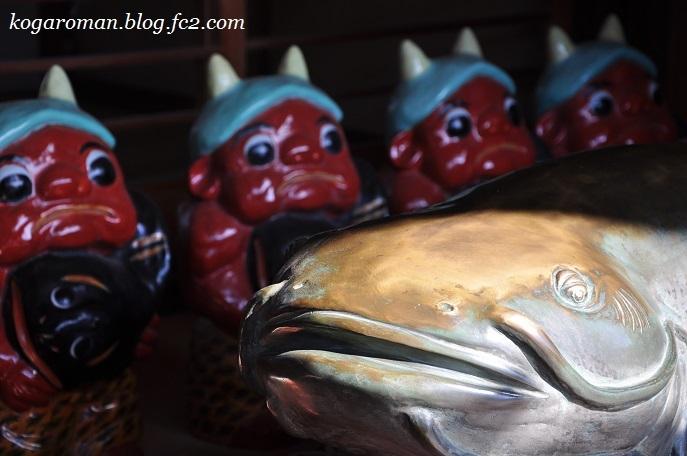 雷電神社の梅と蝋梅8