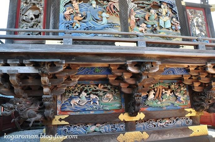 雷電神社の梅と蝋梅4